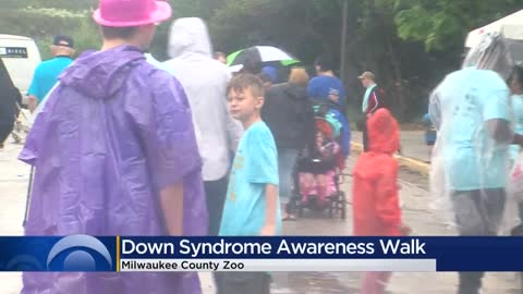 Down Syndrome Awareness Walk held at Milwaukee County Zoo